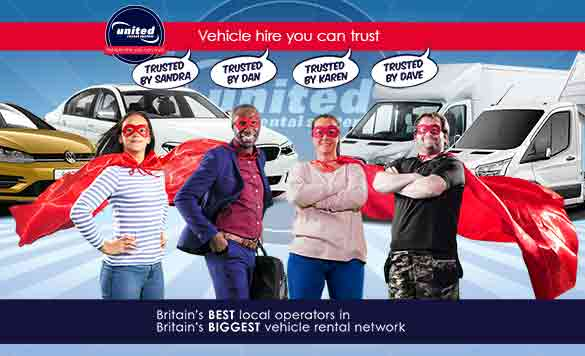 United Rental System - Vehicle Hire You Can Trust